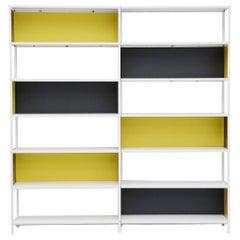 Friso Kramer Asmeta double bookcase for Bijenkorf, 1953