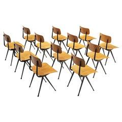 Friso Kramer for Ahrend de Cirkel Set of Twelve 'Result' Chairs