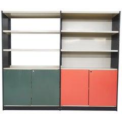 Friso Kramer for Stabilux Metal Book Case, The Netherlands, 1960's