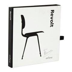 Friso Kramer Hand Signed Miniature Chair Toy Sculpture Ahrend de Cyrkel