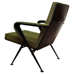 Friso Kramer Mid-Century Modern Green Upholstered Repose Fauteuil, 1969