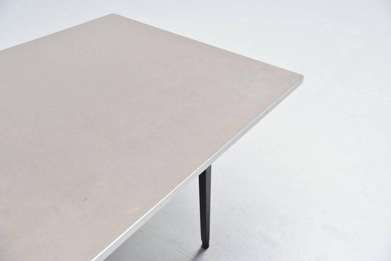 Cold-Painted Friso Kramer Reform Table Ahrend de Cirkel, 1955 For Sale