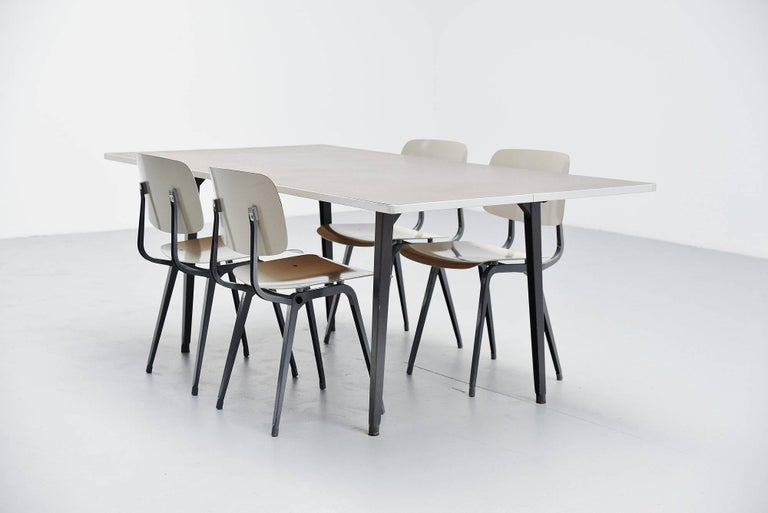 Mid-20th Century Friso Kramer Reform Table Ahrend de Cirkel, 1955 For Sale