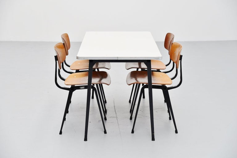 Mid-20th Century Friso Kramer Reform table Ahrend de Cirkel, 1955 For Sale