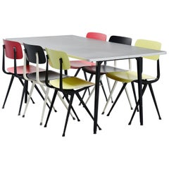 Mid-Century Modern Industrial and Work Tables