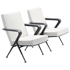 Friso Kramer Repose chairs pair Ahrend de Cirkel, 1959