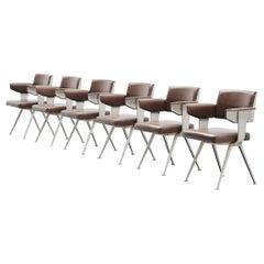 Friso Kramer Resort Armchair Set Ahrend de Cirkel, Holland, 1960
