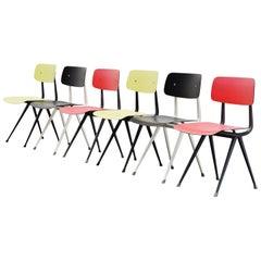 Friso Kramer Result Chairs 6 for Ahrend de Cirkel, 1958