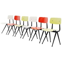 Friso Kramer Result Chairs for Ahrend de Cirkel, 1958