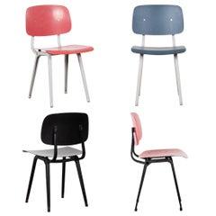 Friso Kramer Revolt Chairs by Ahrend de Cirkel, Netherlands, 1960
