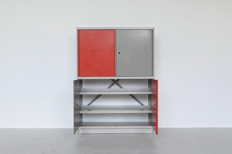 Mid-Century Modern Friso Kramer Stabilux Cabinet Ahrend de Cirkel The Netherlands, 1955