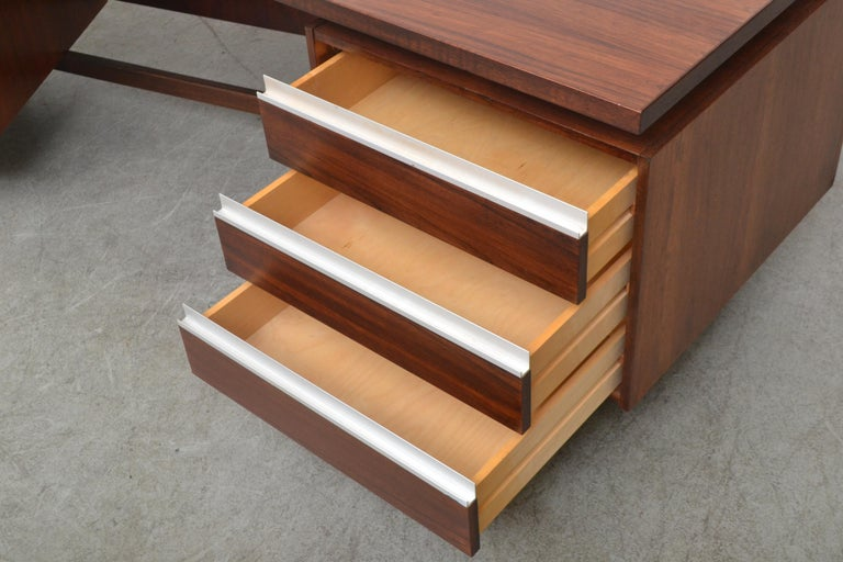 Fristho Executive Rosewood Desk For Sale 6