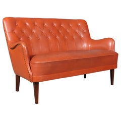 Frits Henningsen, Attributed, Two-Seat Sofa