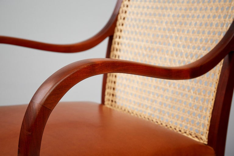 Frits Henningsen Mahogany Armchairs, circa 1940 For Sale 2