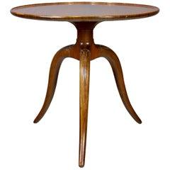Frits Henningsen Mahogany Side Table, 1940s
