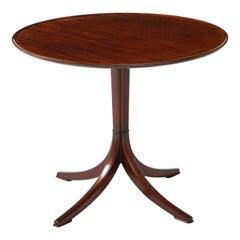 Frits Henningsen Mahogany Side Table, circa 1940s