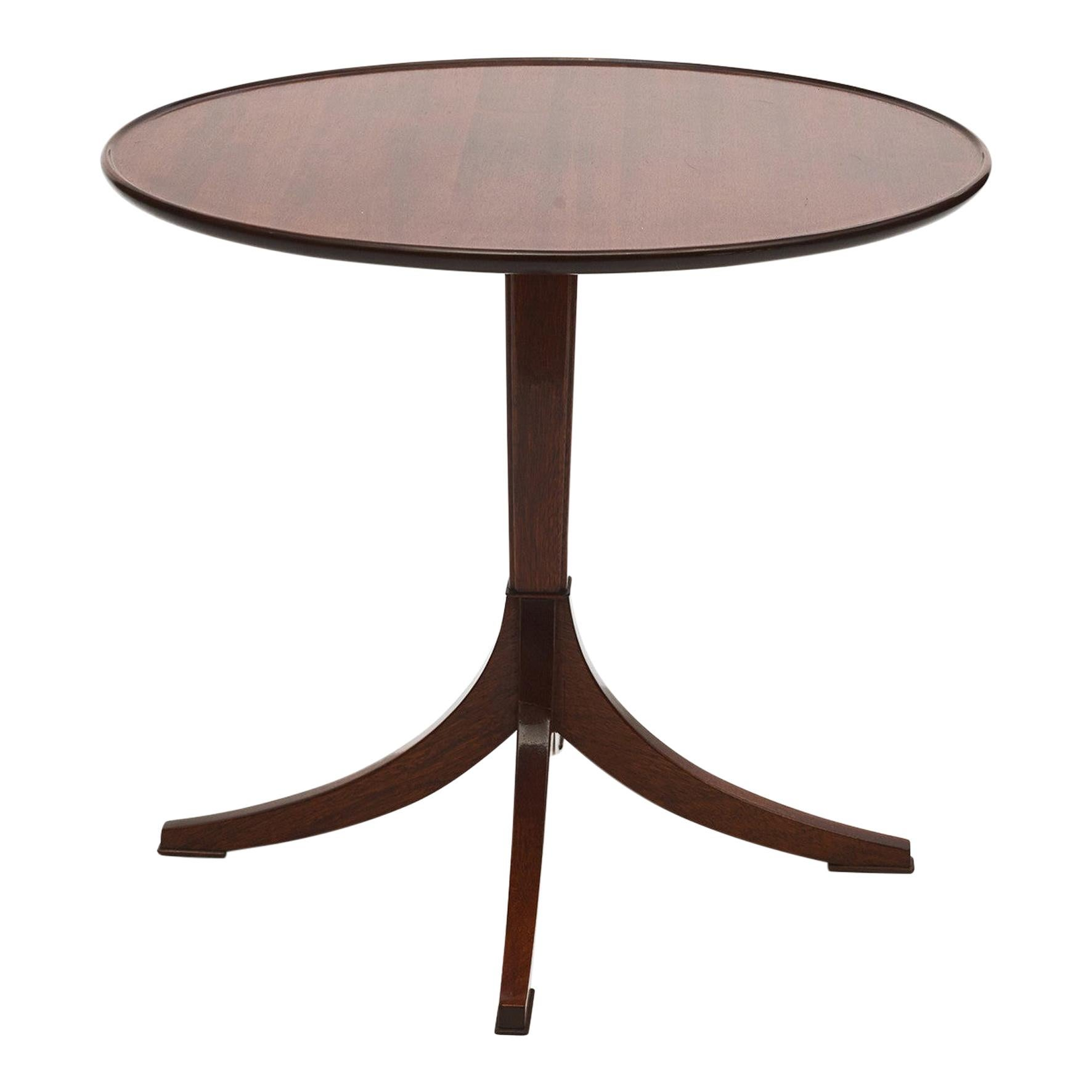 Frits Henningsen Mahogany Side Table
