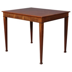 Frits Henningsen Side Table in Cuba Mahogany