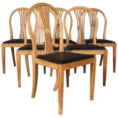 Frits Henningsen Six Dining Chairs