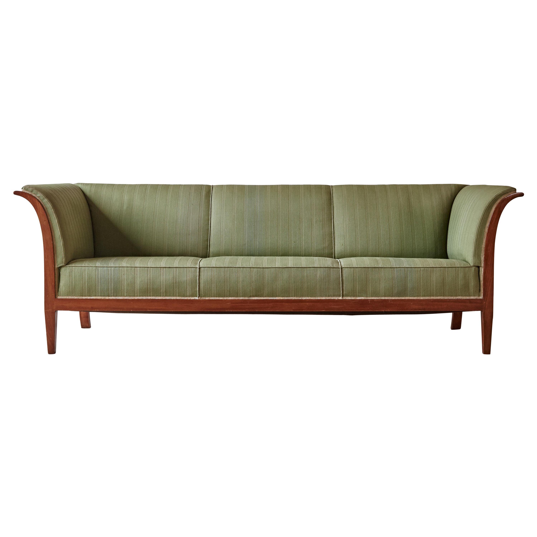Frits Henningsen Sofa, Denmark, 1940s-1950s