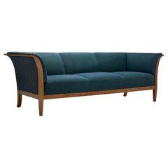Frits Henningsen Three-Seat Sofa by Frits Henningsen, Denmark, 1940s