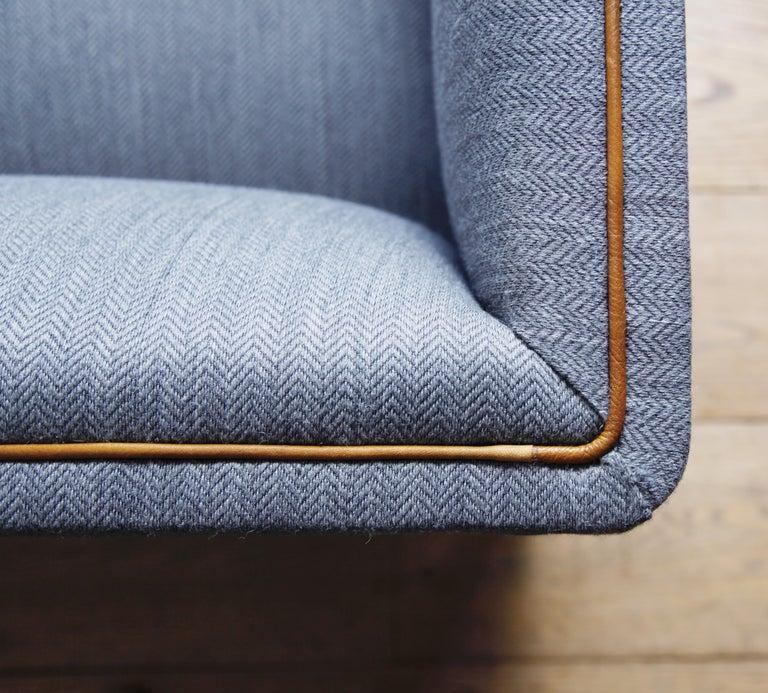 Danish Frits Henningsen Three-Seat Sofa For Sale