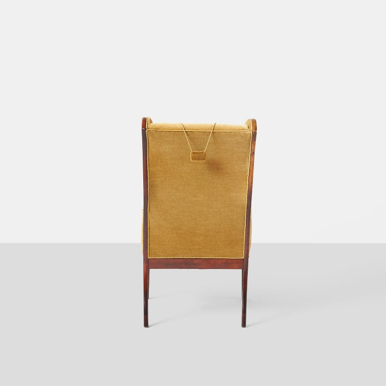 Frits Henningsen Wingback Chair In Good Condition For Sale In San Francisco, CA