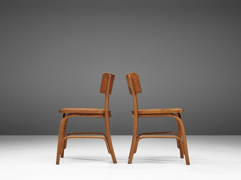 Frits Schlegel for Fritz Hansen Set of Six 'Husum' Chairs For Sale 3