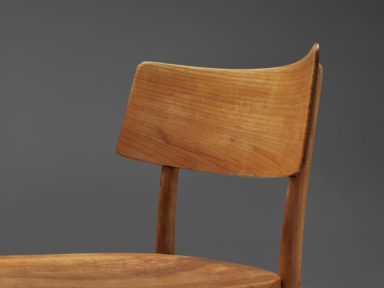 Frits Schlegel for Fritz Hansen Set of Six 'Husum' Chairs For Sale 4