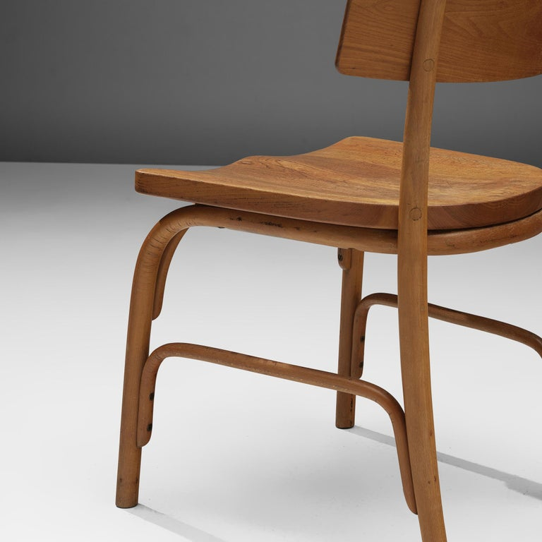 Frits Schlegel for Fritz Hansen Set of Six 'Husum' Chairs For Sale 5