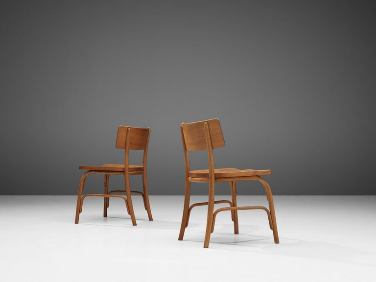Frits Schlegel for Fritz Hansen Set of Six 'Husum' Chairs For Sale 2