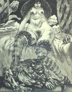 Aquatint Nude Prints