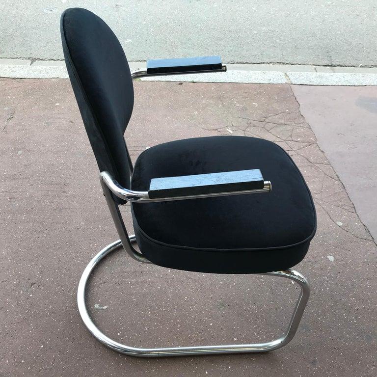 Mid-20th Century Fritz August Breuhaus de Groot 'Fab' 1934 Armchair For Sale