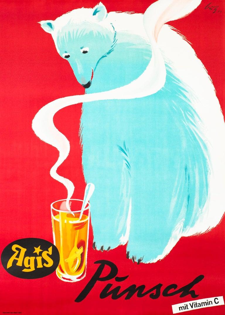 Fritz Bühler Animal Print - Agis Punsch mit Vitamin C