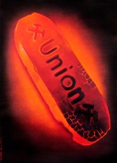 """Union"" Original Vintage Hyper-Realistic Product Poster 1940s"