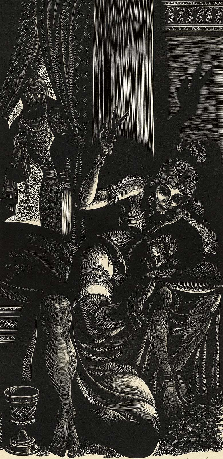 And His Strength Went From Him (Samson And Delilah)