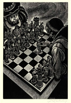 Follies of Princely Power (A chess match as a metaphor for warfare)