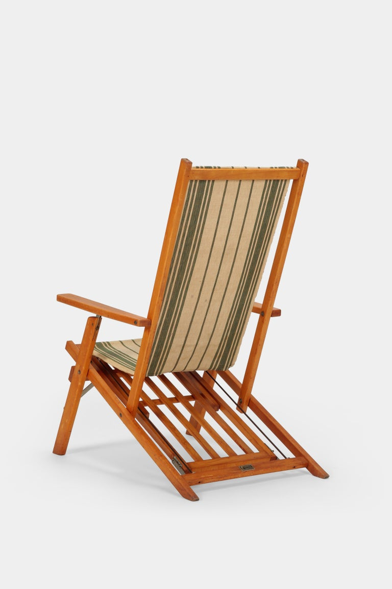 Fritz Fahrner Folding Chair 1930s At 1stdibs