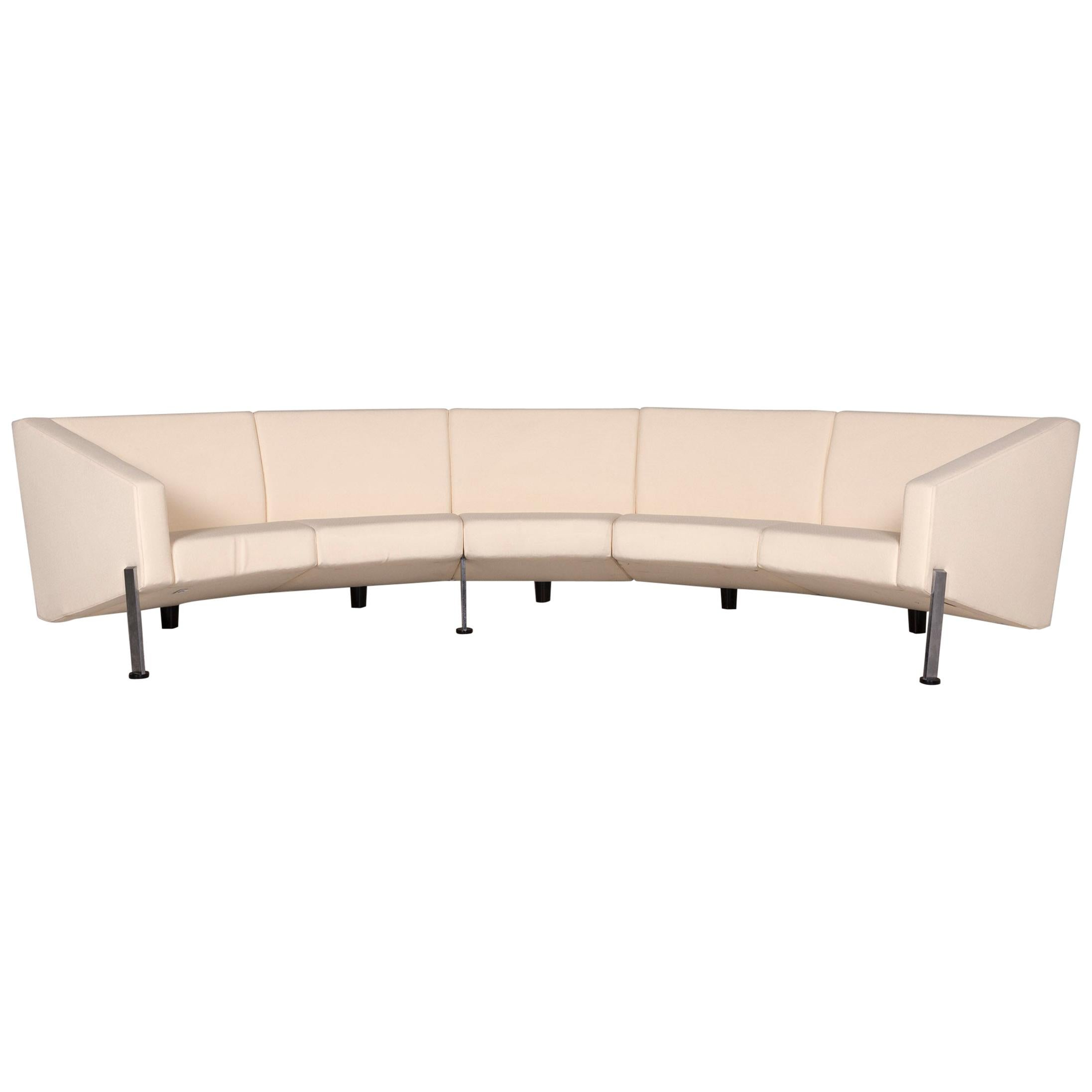 Fritz Hansen Decision Fabric Corner Sofa Cream Sofa Couch