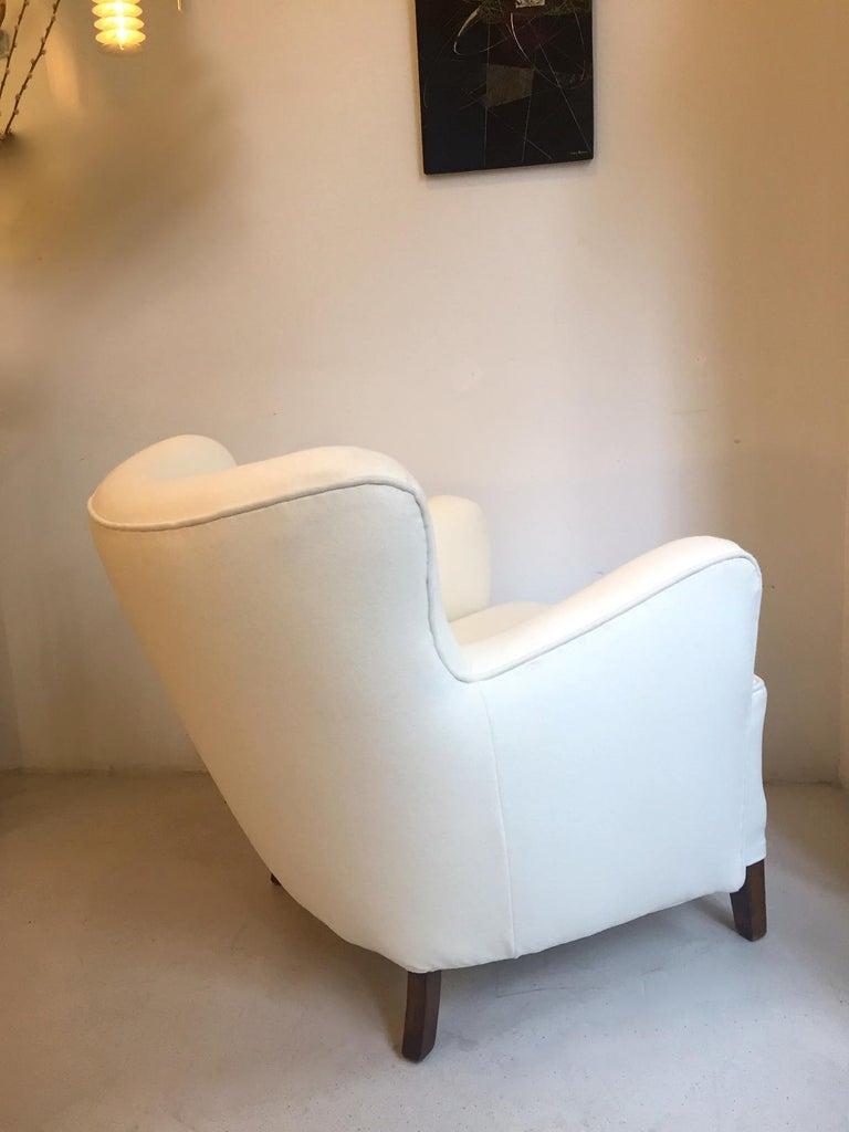 Danish Fritz Hansen Easy Chair Model 1669 For Sale