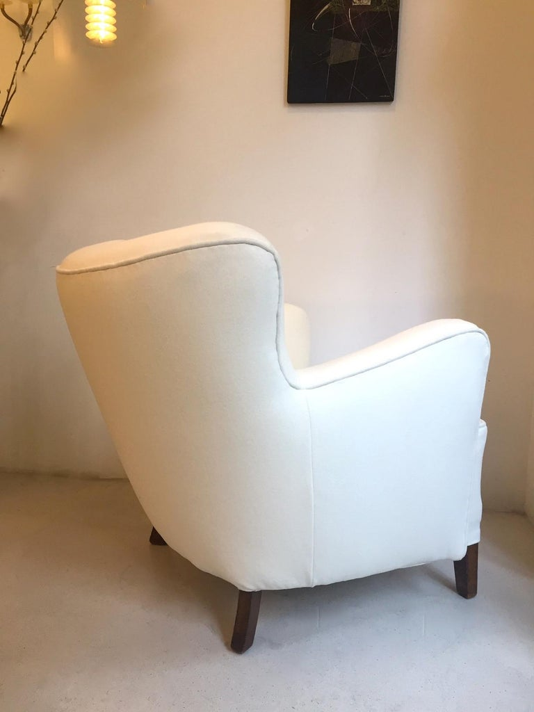 Fritz Hansen Easy Chair Model 1669 In Good Condition For Sale In Madrid, ES
