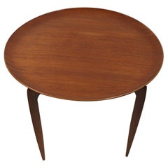 Fritz Hansen Hans Engholm Folding Table in Teak