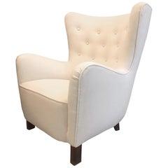Fritz Hansen Lounge Chair, Model 1669, 1940