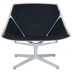 Fritz Hansen Metal Frame Space Lounge Chair by Jehs & Laub Very Cool