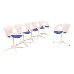 Fritz Hansen Rin Dining Chairs by Hiromichi Konno, Set of 6