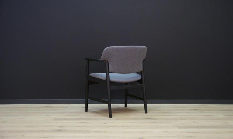 Fritz Hansen Vintage Armchair Danish Design For Sale 3