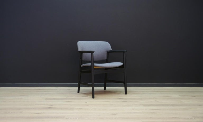 Mid-Century Modern Fritz Hansen Vintage Armchair Danish Design For Sale