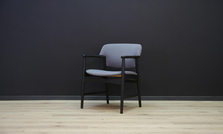 Scandinavian Fritz Hansen Vintage Armchair Danish Design For Sale