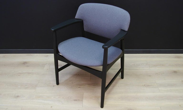 Veneer Fritz Hansen Vintage Armchair Danish Design For Sale