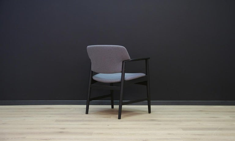 Late 20th Century Fritz Hansen Vintage Armchair Danish Design For Sale